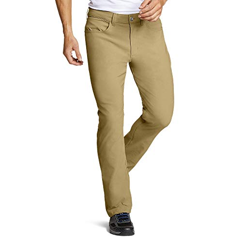 Eddie Bauer Men's Horizon Guide Five-Pocket Pants - Straight Fit, Saddle Regular