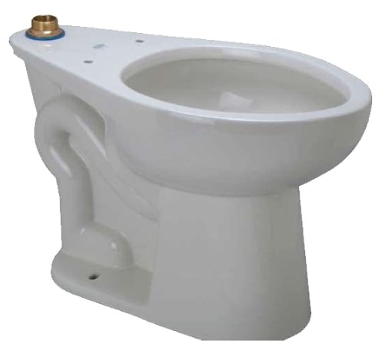 Zurn Z5655 BWL One Piece Elongated Toilet Bowl Only from the EcoVantage Collecti, White