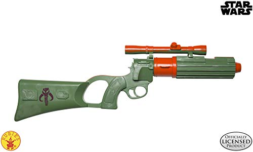 Rubies - Pistola bláster de Boba Fett, Producto Oficial de Star Wars, Talla única