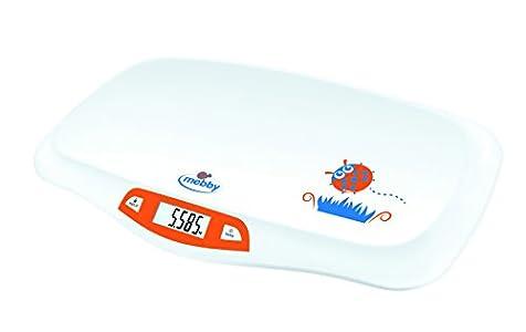 Mebby 95136– Primeros pesos, báscula para recién nacidos con función de pesado en movimiento
