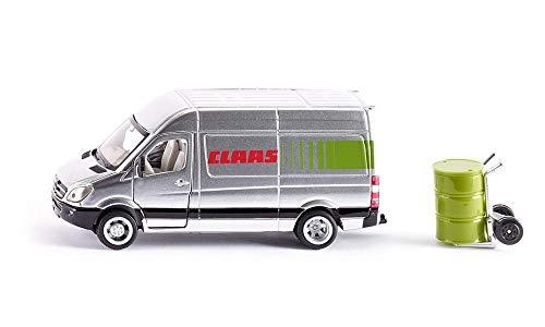 SIKU 1995, Claas Servicefahrzeug, 1:50, Metall/Kunststoff, Silber, Viele Funktionen