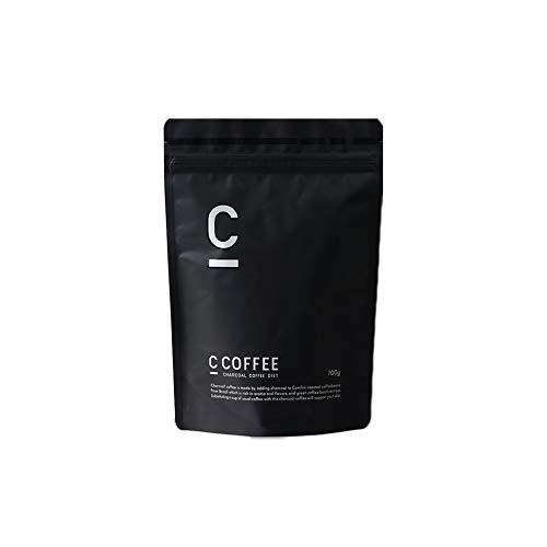 ダイエット コーヒー C COFFEE シーコーヒー 【チャコール mctオイル パウダー オーガニック 炭 腸活 ダイエット サプリ の代わりに 脂肪燃焼系 サポート】 (ブラジル産コーヒー豆100%)