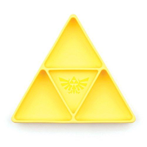 Bumkins Silicone Grip Dish, Zelda Yellow, 5″