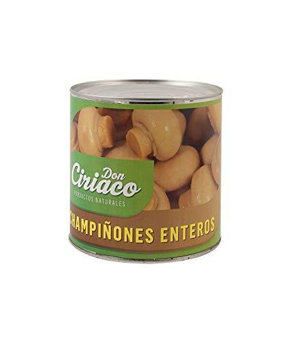 CHAMPIÑONES ENTEROS DON CIRIACO LATA 3 KG (1 LATA)