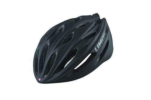 Limar Fahrradhelm 778 Gr.M 52-57cm schwarz matt ca. 205g Fahrrad
