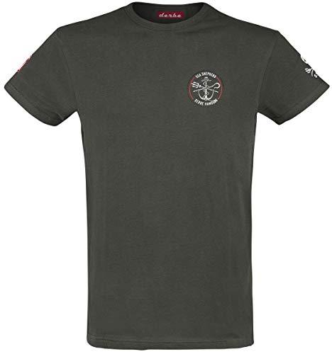Sea Shepherd X Derbe Hamburg JF_Hecht Männer T-Shirt schwarz XL