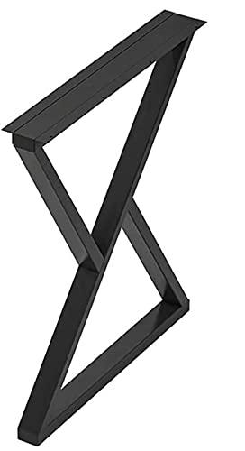 Skows Metal Table Piernas Marco De Mesa Mesa De Acero Mesa De Centro Mesa De Café Mesa De Comedor Escritorio Muebles Industriales Pies,Negro,50 * 70cm