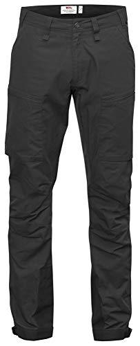 Fjällräven Herren Hose Abisko Lite Trekking Trousers Outdoor, Dark Grey, 50