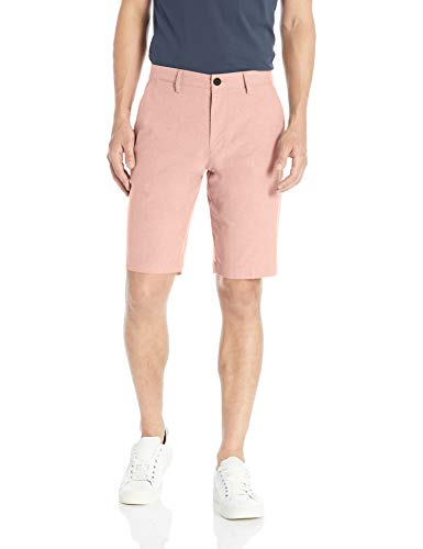 Amazon-Marke: Goodthreads Herren Oxford-Shorts, 27,9 cm Schrittlänge, mit komfortablem Stretch, Pink (Muted Clay Mut), 36W