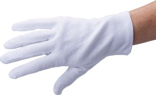 HögaSoft-Hand Cotton Größe XS, 1 Paar, 100% Baumwollhandschuhe, 3er-Pack