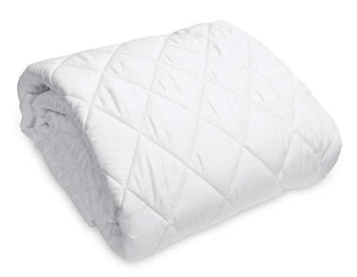 Texturas Home Mikrofaser-Matratzenschoner, für Hotels und Wohnungen. 90 x 190 cm weiß