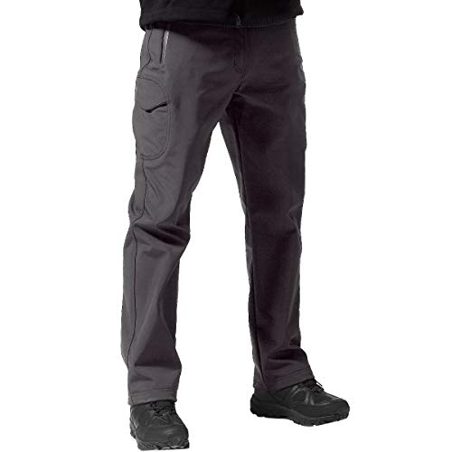 FREE SOLDIER Men's Outdoor Softshell Fleece Lined...
