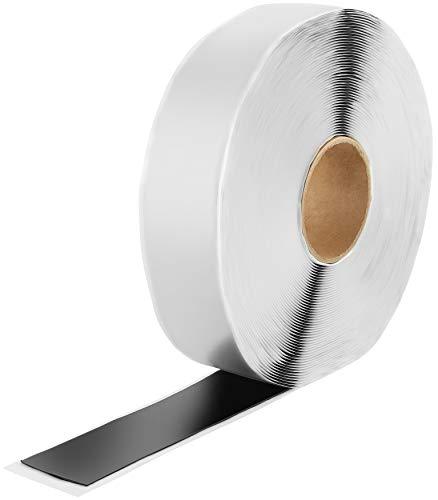 Poppstar doppelseitiges Butyl Klebeband (25m x 50mm x 1,6mm) Dichtband selbstklebend schwarz