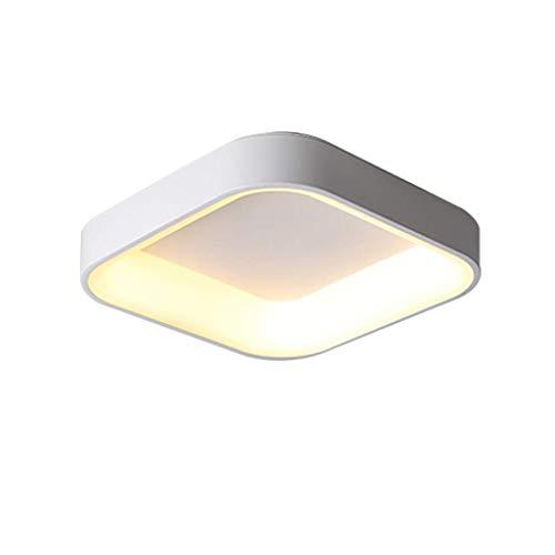 FMOGE Home lighting Ceiling Light,Modern Minimalist Ceiling Light,Warm Bedroom Light Round Simple Modern Living Room Lighting Living Room Lighting Study Room Energy-Saving Lamps,Square/tricolor/60cm