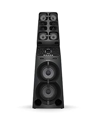 Sony MHC-V90DW, High Power Party Speaker. All-in-One Music System with Lighting Effects by Sony
