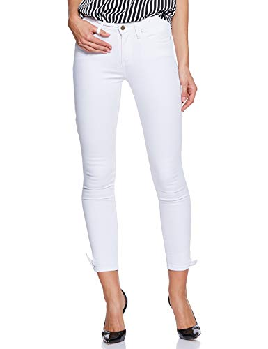 Tommy Hilfiger Vrouwen. Skinny jeans. Como Rw Ankle Bow Clr