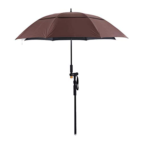 Macro Paraguas de Pesca, Capa Nana Impermeable, protección Solar, protección UV, 0 transmitancia de luz, Paraguas Plegable al Aire Libre/Paraguas de Playa