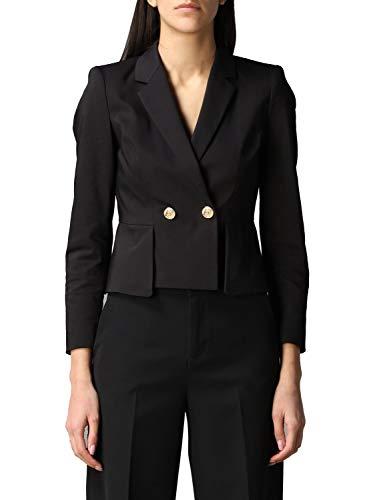 Luxury Fashion | Liu Jo Dames PA0062T235422222 Zwart Katoen Blazers | Lente-zomer 20
