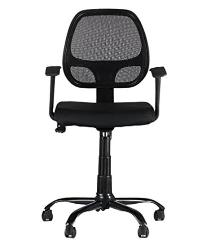 CELLBELL® C103 Mesh Medium-Back Chair [Black]