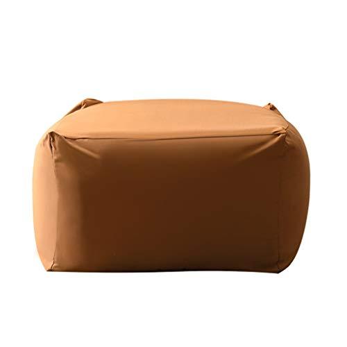 Sofá tumbona LHY- Bean Bag 57 * 57 * 37/65 * 65 * 45cm luie bank zitzak extra grote slaapkamer kamer Enkele slaapzaal kleine bank Suave