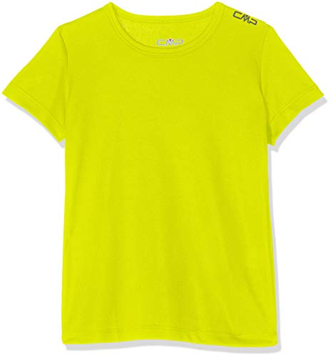 CMP Technical T-Shirt with UPF Fille, Limeade, 164
