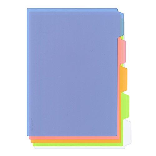 プラス カラーインデックスシート 5山 103CH 5色色込 88-161