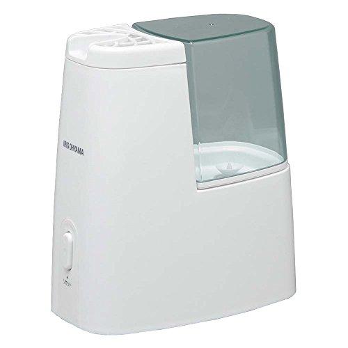 アイリスオーヤマ 卓上加湿器 加熱式 アロマ対応 グリーン (~洋室3畳まで) SHM-120D-G