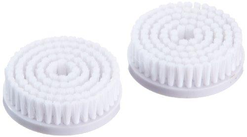 Silk\'n SonicClean Mikrofaserbürste, 2er Pack Bürstenaufsätze Regular