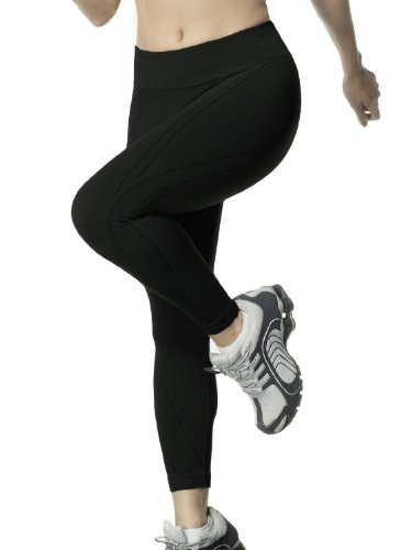 Calça legging Max, Lupo Sport, Feminino, Preto, M
