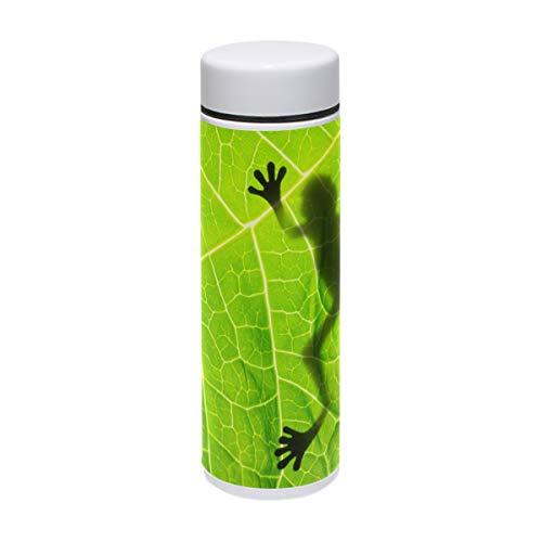 WowPrint taza de viaje, árbol verde rana Amazon Rainforest aislado acero inoxidable...