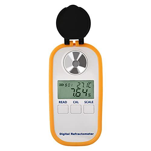 SETSCZY Digitale Kaffee Konzentration Meter Tester 0-30% Kaffee Zucker Meter TDS 0-25% Konzentration Refraktometer Kaffee Refraktometer