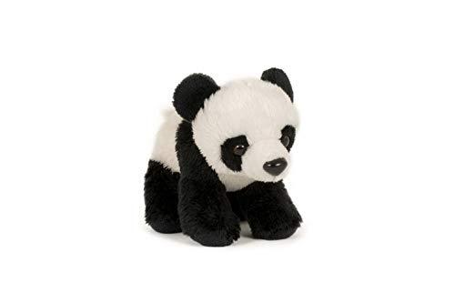 Trigon Plüschtier großer Panda 15cm, Soft, Kuscheltiere Stofftiere Pandabär Bambusbär Bären