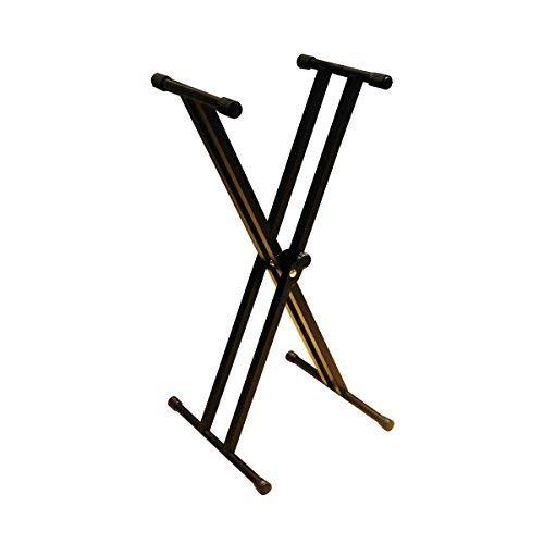RockJam doble brazo del soporte para teclado ajustable de 29 cm a 91...