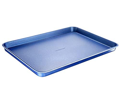 "Granitestone Bakeware Nonstick Cookie Sheet XL Baking Tray, Even Heat & Non-Warp Technology, Ultra Nonstick Mineral Coating & Dishwasher Safe, Pro Heavy-Duty Chef's Bakeware 17.7"" x 12.7"" Full Sized"