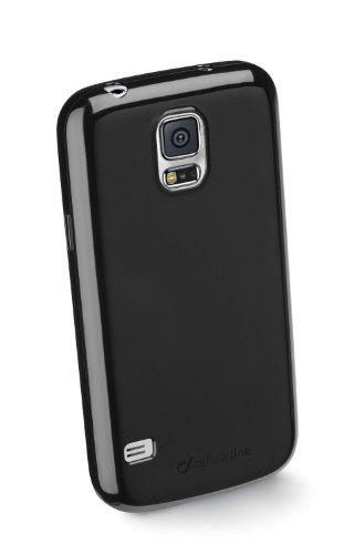 Cellular Line SHCKGALS5BK TPU Backcover inkl. Displayschutzfolie für Samsung Galaxy S5 schwarz
