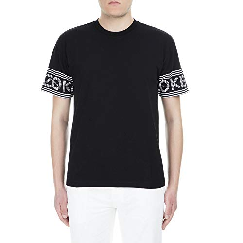 Kenzo Sport Paris - Camiseta (talla M), color negro