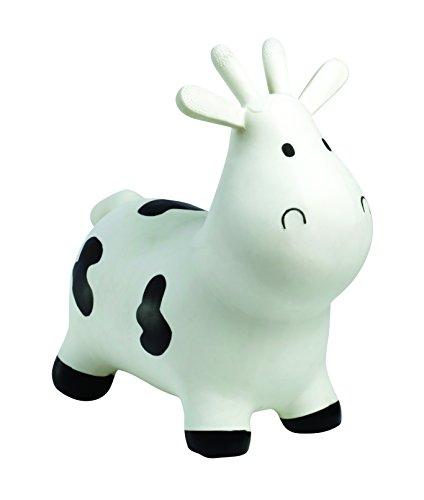 Happy Hopperz - Vaca, Color Blanco (HHZ02B)