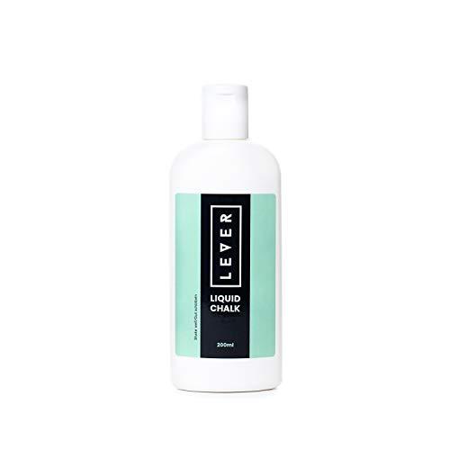 Lever Liquid Chalk - 200ml Flüssigkreide mit Magnesiumcarbonat - Made in Europe - für mehr Grip beim Calisthenics, Klettern, Crossfit.