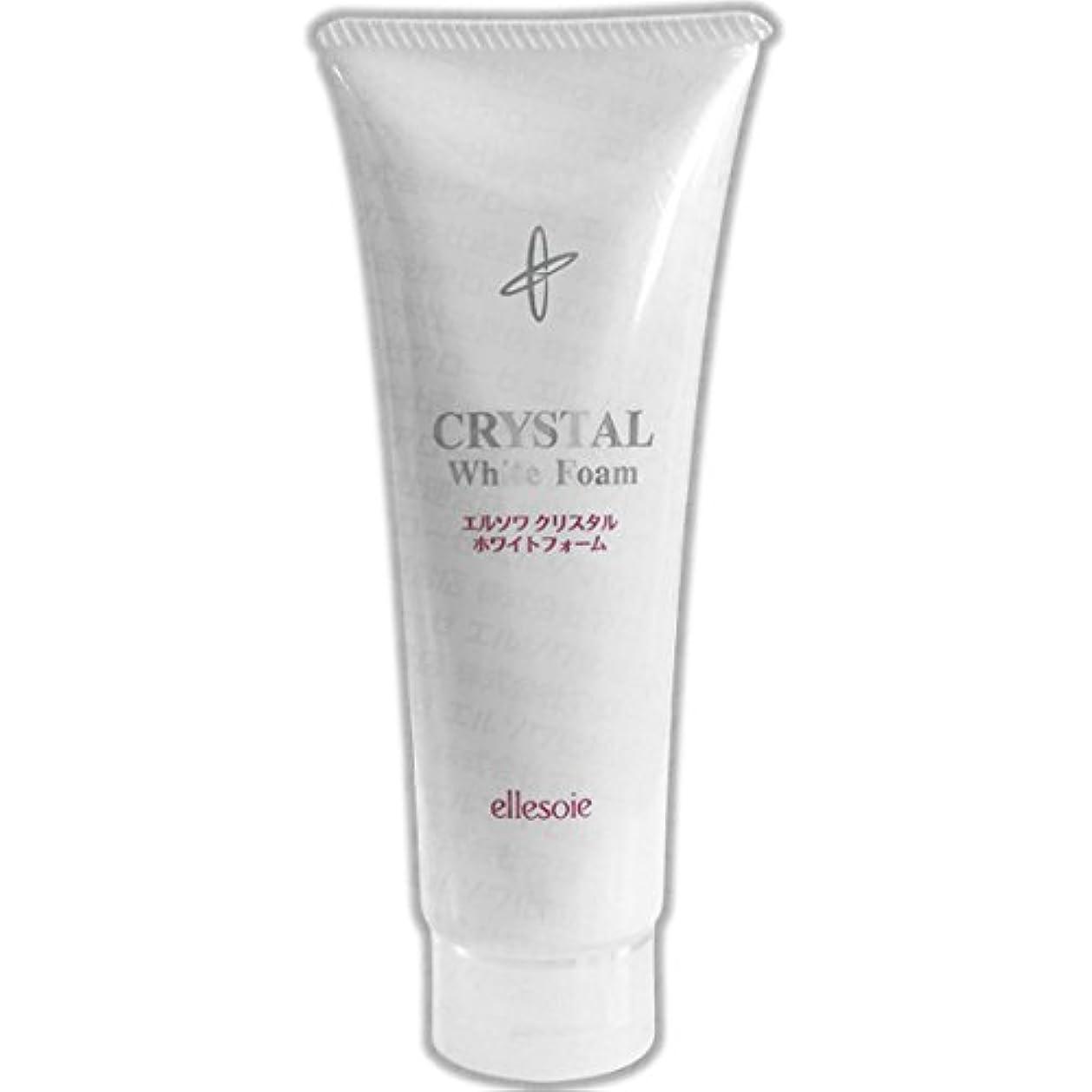 ポップオプショナルイースターエルソワ化粧品(ellesoie) クリスタル ホワイトフォーム 洗顔