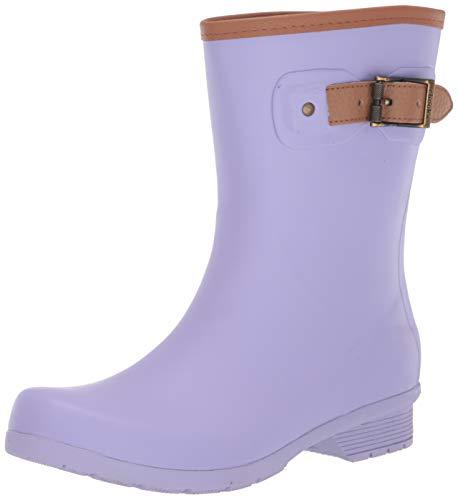 Chooka Women's City Solid Mid Calf Boot, Lavender, 8