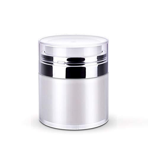 Frasco cosmético CremasLociones Cosméticos de maquillaje Accesorios para uñas, Ayudas de belleza Botes de crema acrílico vacíos, Botella de vacío, Frasco de crema de prensa Frascos de muestra 30G/30ML