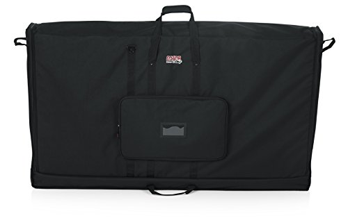Gator Cases Padded Nylon Carry Tote Bag for Transporting LCD Screens, Monitors and TVs; Fits 60' Screens (G-LCD-TOTE60)