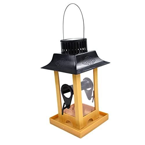 SONG Jardín al Aire Libre enjaulado alejar Aleatorio de Aves balcón afuera con led solares