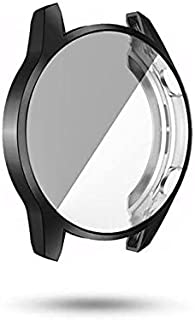 Silicone protection cover for 360 degree protection with screen protection for Huawei GT2 watches size 42mm black color