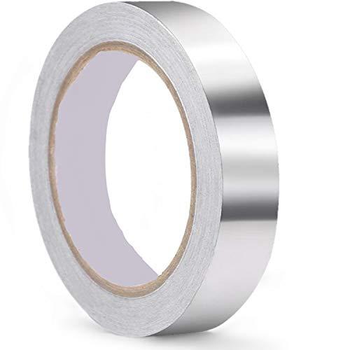 導電性アルミテープ 幅20mm×長さ20m×厚さ0.09mm アルミ箔テープ 導電 厚手アルミテープ 静電気除去 アルミテープチューン 金属テープ 耐熱 強粘着 厚手タイプ