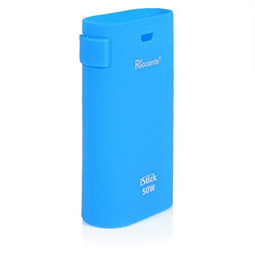 Riccardo iStick 50 Watt Schutzhülle aus Silikon Produced by Eleaf, blau, 1er Pack (1 x 1 Stück)