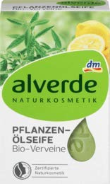 alverde NATURKOSMETIK Seife Pflanzenöl Verveine, 1 x 100 g