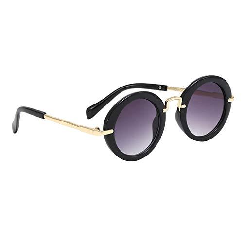 freneci Kleinkind Sonnenbrille Brille Kinder Jungen Baby Mode Rahmen - Schwarz, wie Beschreibung