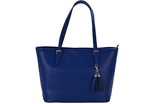 RAFAELI - Bolso de tela para mujer, azul (azul eléctrico), talla única