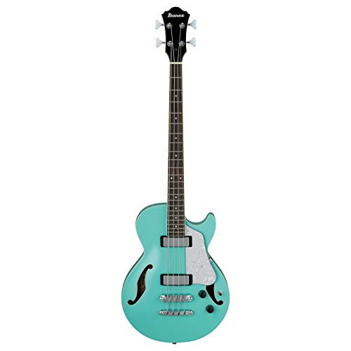 IBANEZ Artcore Vibrante Semi-Hollow E-Bass 4 String - Sea Foam Green (AGB260-SFG)